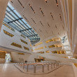 Постер, плакат: Interior of the new and futuristic Vienna University of Economic