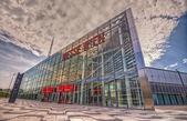 Vienna exhibition center, Austria — Stock Photo