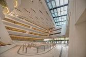 Interior of the new  Vienna University of Economics and Business — Стоковое фото