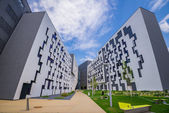New Campus WU, Vienna University of Economics and Business — Stock Photo