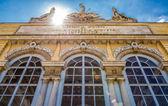 Schonbrunn Palace Garden Gloriette in Vienna — Foto Stock
