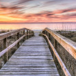 Boardwalk to Sunrise — Stock Photo #29045731