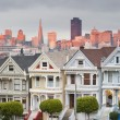 Alamo Square, San Francisco, California. — Стоковая фотография