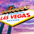 Welcome To Las Vegas — Stockfoto
