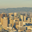 Panorama view of San Francisco — Stock Photo