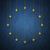 Flag of EU, European Nation — Stock Photo