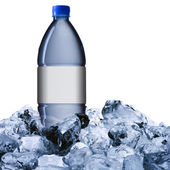 Cold water bottle — Stock Photo