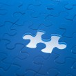 Missing jigsaw puzzle piece — Stock Photo #30228659