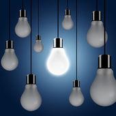 Uma luz acender — Foto Stock