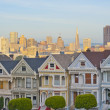 Alamo Square in San Francisco — Stock Photo