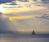 Wind surf boat — Photo