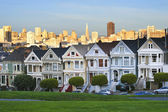 Alamo square in san francisco — Stockfoto