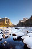 Yosemite National Park in Winter — Stock Photo