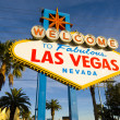 Welcome to Las Vegas Sign — Stock Photo