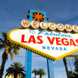 Welcome to Fabulous Las Vegas Sign — Stock Photo #31425219