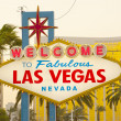 Welcome to Fabulous Las Vegas Sign — Stock Photo #31425447