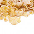 Crispy corn flakes heaped — Stock Photo #31427673