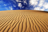Desert Sand Texture — Stock Photo