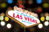 Welcome to Fabulous Las Vegas Sign — Foto de Stock