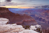 Grand Canyon national park at sunrise — Stock Photo