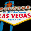 Welcome to Las Vegas Sign. — Stock Photo