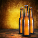 Three beer bottles. — Stock Photo #31433499