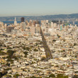 San Francisco skyline — Stock Photo