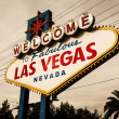 Welcome To Las Vegas neon — Stock Photo