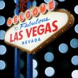 Welcome To Las Vegas neon sign — Stock Photo #35231871