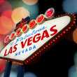 Welcome To Las Vegas neon sign — Stock Photo #35231909