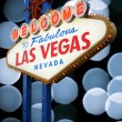 Welcome To Las Vegas neon sign — Stock Photo #35232067