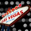 Welcome To Las Vegas neon sign — Foto Stock
