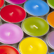 Colorful candles — Stock Photo
