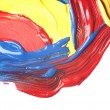 Abstract watercolor hand painted  — Stockfoto