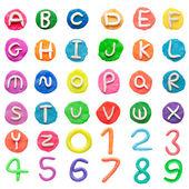 Alphabet letter — Stock Photo