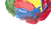 Abstract watercolor hand painted — Stock Photo
