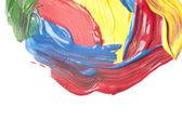 Soyut suluboya el boyalı — Stok fotoğraf