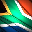 South Africa flag — Stock Photo #36460163