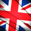 United Kingdom Flag — Foto de stock #36460193