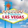 Famous Las Vegas Welcome Sign — Photo