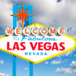 Famous Las Vegas Welcome Sign — Stock Photo #36460425