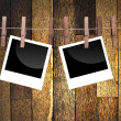 Blank photo frames for your photos — Stock Photo