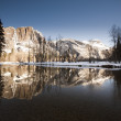 Stock Photo: Yosemite National Park in Winter