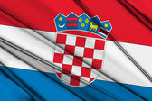 Crotia Flag — Stockfoto