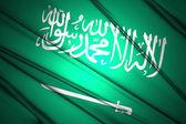 Saudi Arabia flag — Stock Photo