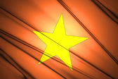 Vietnam flag — Stock Photo