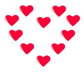 Heart shape — Stockfoto