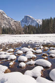 Yosemite National Park in Winter — Stock Photo