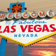 Welcome to Fabulous Las Vegas Sign — Stock fotografie