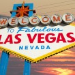 Welcome to Fabulous Las Vegas Sign — Foto de Stock